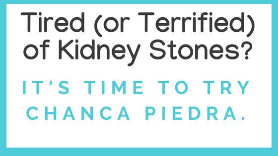 Kidney Stone Breaker - Try Chanca Piedra (www.LindenBotanicals.com)