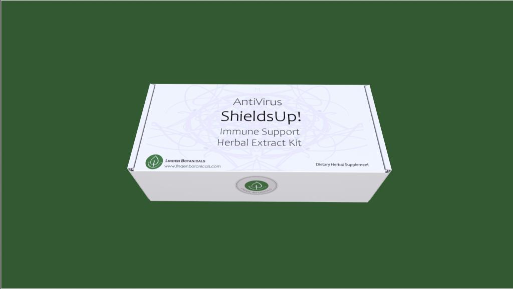 Linden Botanicals Immune Support Herbal Extract Kit